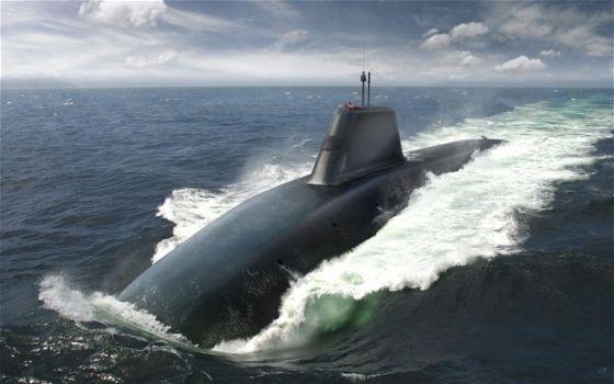 ПЛАРБ Successor Submarine