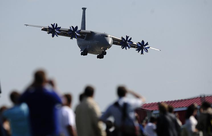 Самолет Ан-70.