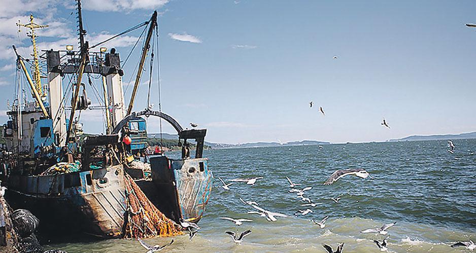 Украинское рыболовецкое судно ЯМК-0041.