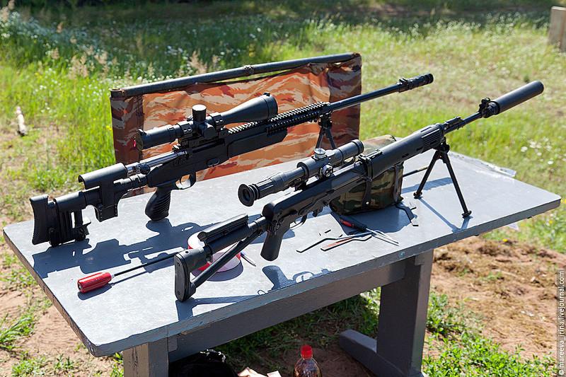 Обновленная и модернизированная винтовка СВ-98М-338 (CB-338М1) калибра .338LM с новым вариантом ложа (с отделяемым прикладом).