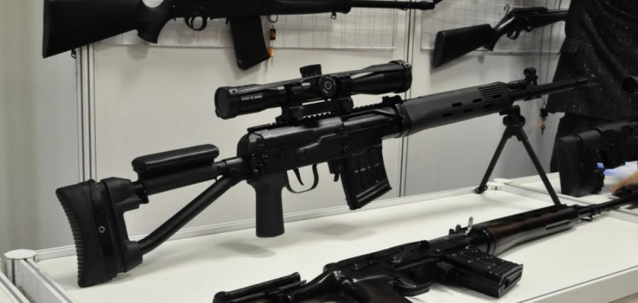 Один из вариантом модернизированной снайперской винтовки Драгунова (СВДМ).