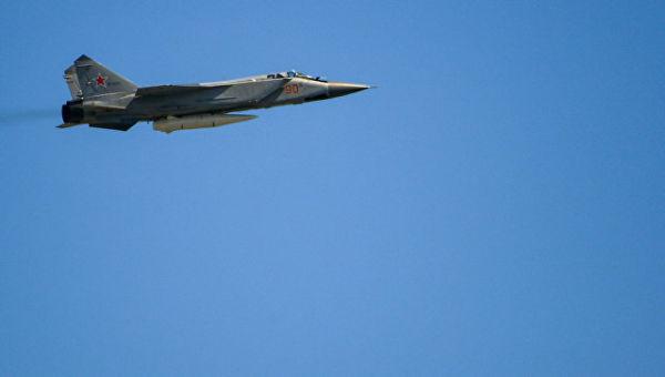 Сверхзвуковой истребитель-перехватчик МиГ-31БМ. Архивное фото