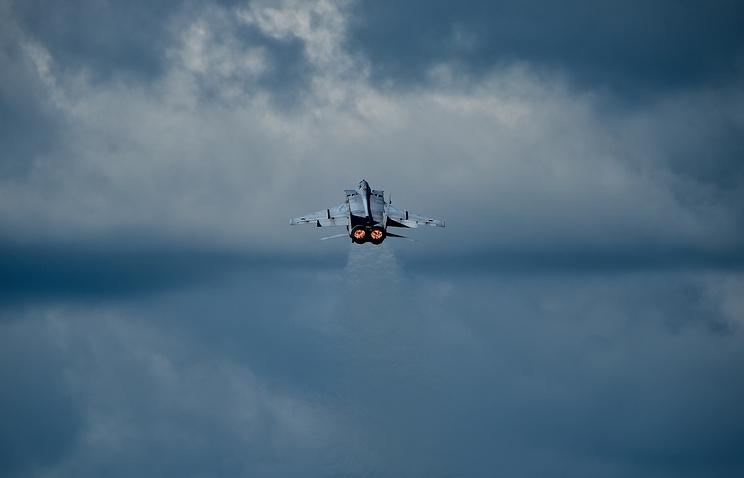 Сверхзвуковой всепогодный истребитель-перехватчик дальнего радиуса действия МиГ-31БМ.