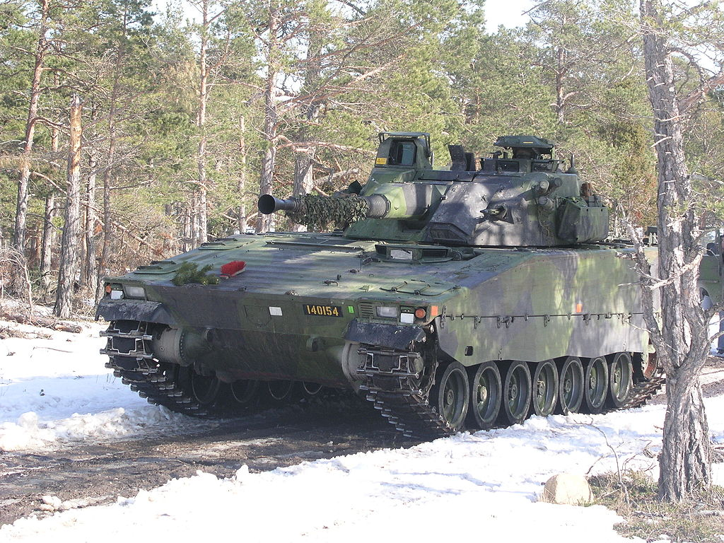 БМП Combat Vehicle 90.