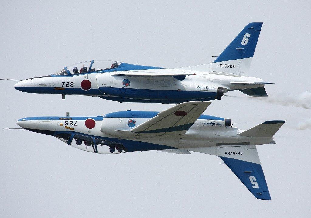 T-4 - легкий штурмовик/ учебно-тренировочный, разработанный компанией «Кавасаки» для Воздушных сил самообороны Японии.