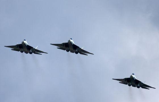 Истребители Т-50