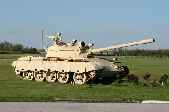 Советский экспортный средний танк Т-59 на базе Т-54<br>Источник: http://krigsmarine.ru/.