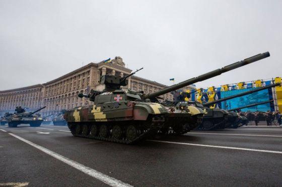"Танки Т-64БМ ""Булат"""