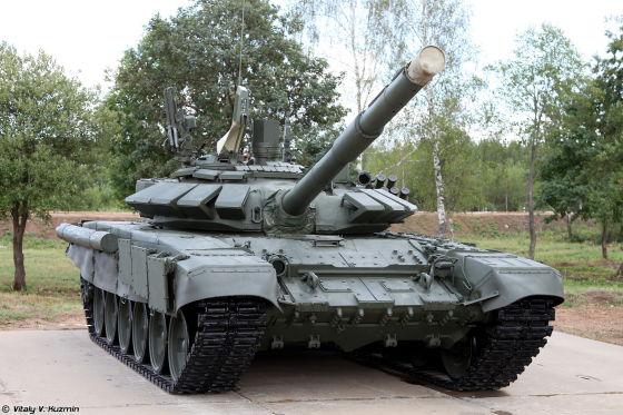 Модернизированный танк Т-72Б3