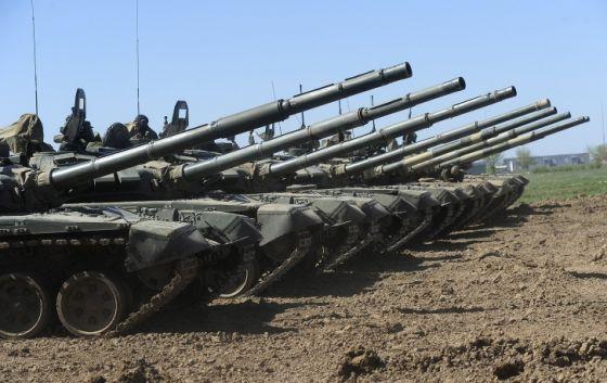 Модернизированные танки Т-72Б3