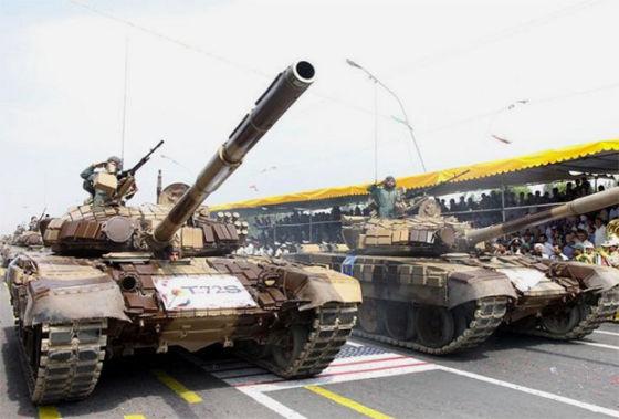 Иранские танки Т-72С