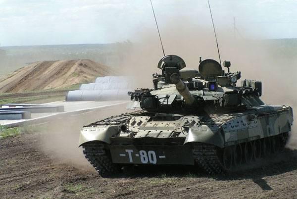 Модернизация Т-80 от Омсктрансмаша.