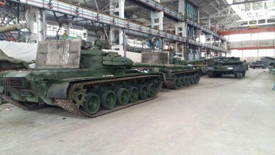 Танки Т-80БВ
