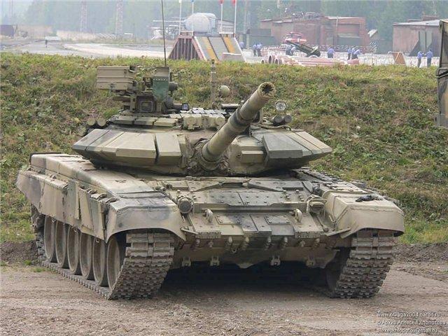 Ракетно-пушечный танк Т-90С