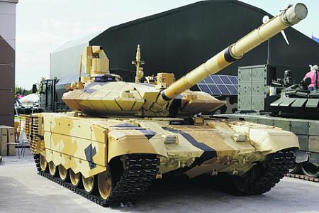 Т-90МС – не просто модернизированный Т-90. Фактически это новая машина. Фото Виталия Кузьмина