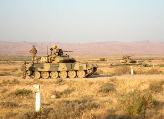 Танки Т-90СА