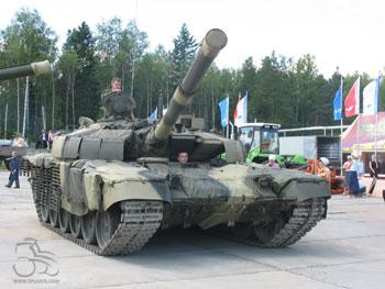 Т-72М с ДЗ «Реликт»