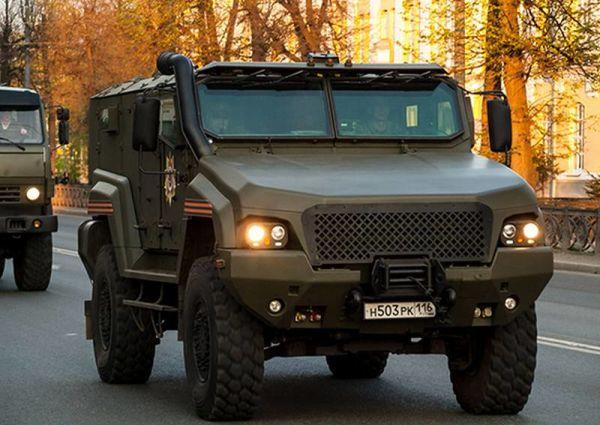 Бронеавтомобиль КамАЗ 53949
