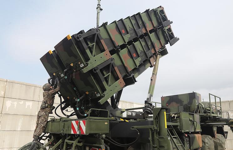 Ракетный комплекс Patriot-3.