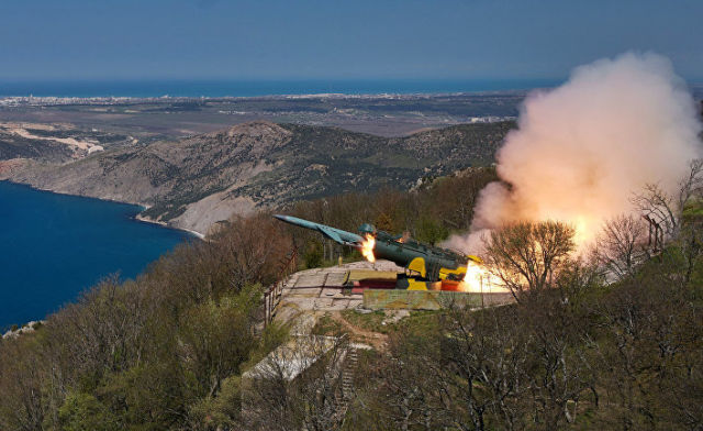 Тактические учения ЧФ РФ в Крыму