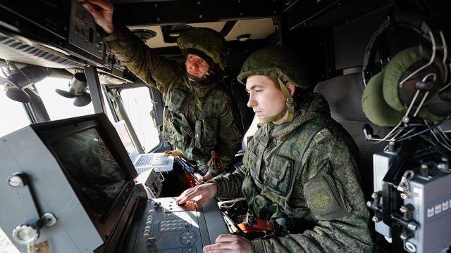 """Тактические учения расчетов берегового ракетного комплекса """"Бастион"""""""