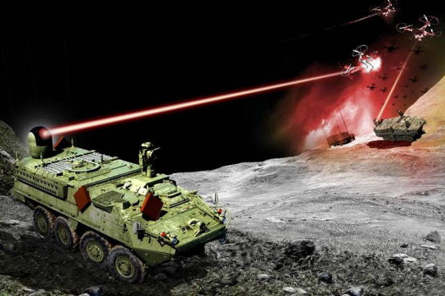 Тактический лазер для ПВО США с 2022 года