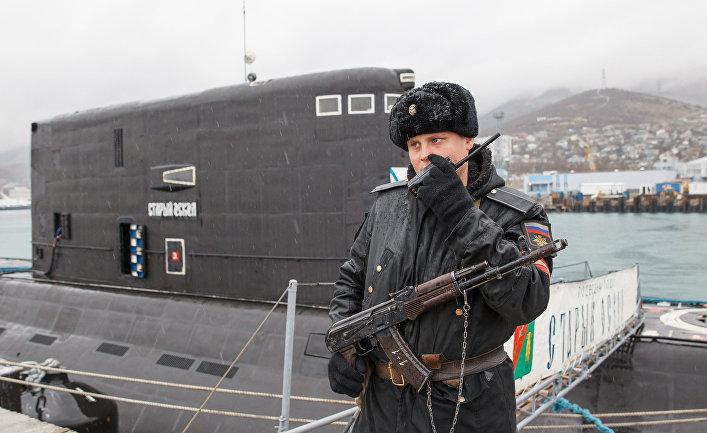 Тактико-специальные учения на Новороссийской военной базе.
