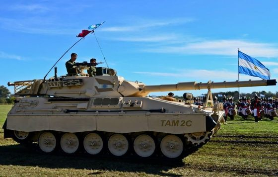 Прототип танка ТАМ 2С