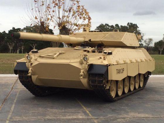 Прототип танка TAM 2IP