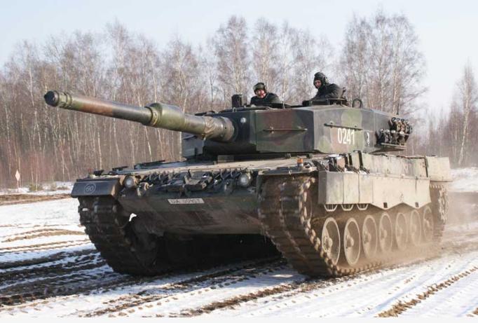 Танк Leopard-2 польской армии.