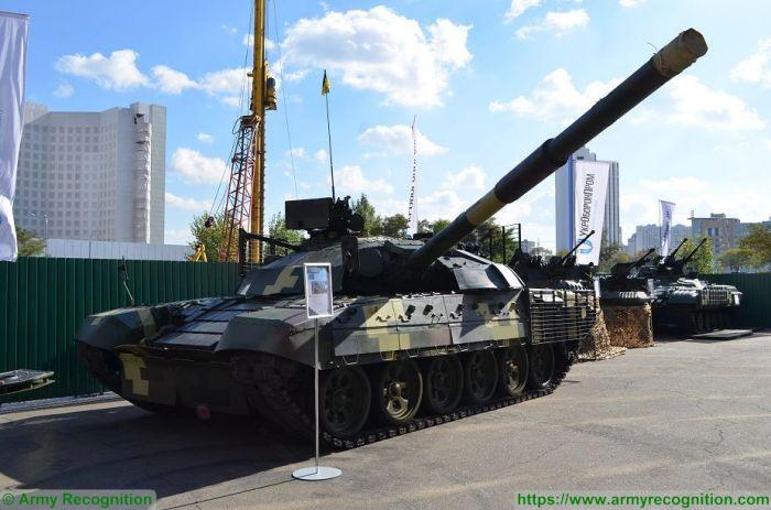 Украинский танк T-72AMT.