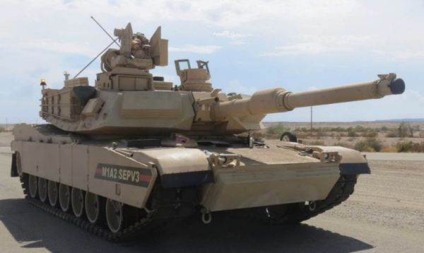 Танк Abrams M1A2 SEP v3