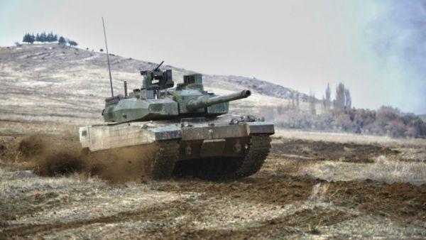 Танк Altay.