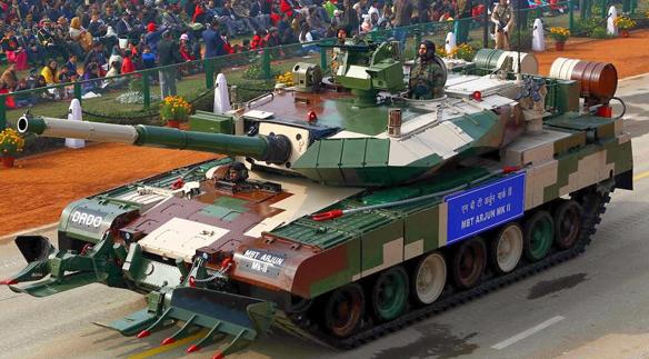 Танк Arjun Mk-2.