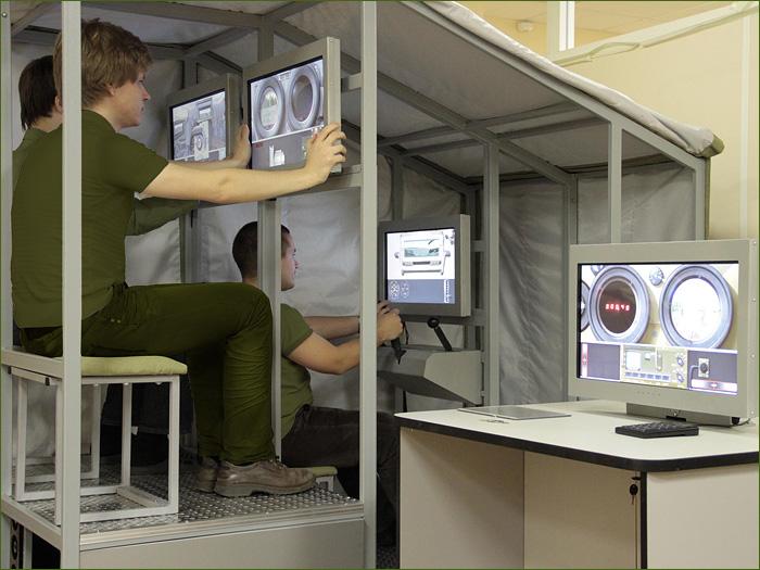 КОМБАТ - Комплекс средств обеспечения единого виртуального поля боя <br>и подготовки подразделений силовых структур. Источник: Транзас Новые Технологии.