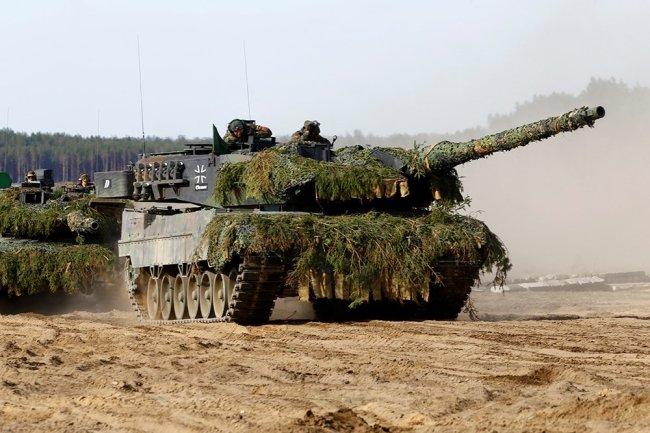Танк Leopard 2.
