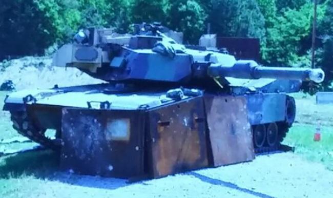 M1A2 SEPv2 Abrams.