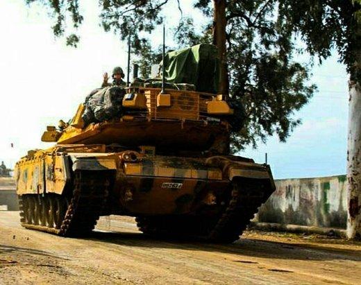 Танк M60T турецкой армии.
