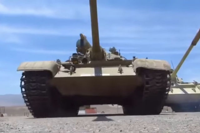 Танк Т-55 ВС Перу