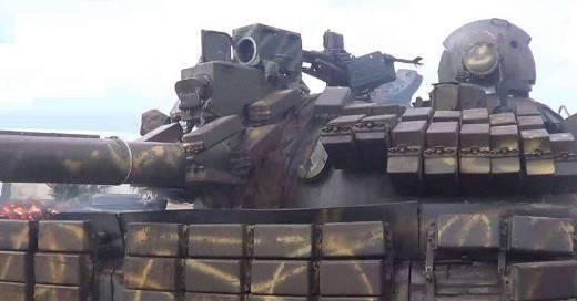 Танк Т-55МВ ВС Сирии.