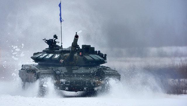 Танк Т-72. Архивное фото.