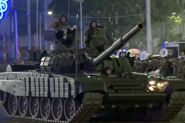 Танк Т-72Б1 ВС Никарагуа.