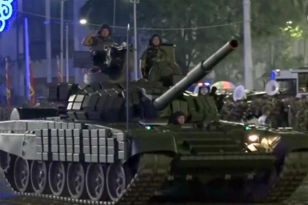 Танк Т-72Б1 ВС Никарагуа