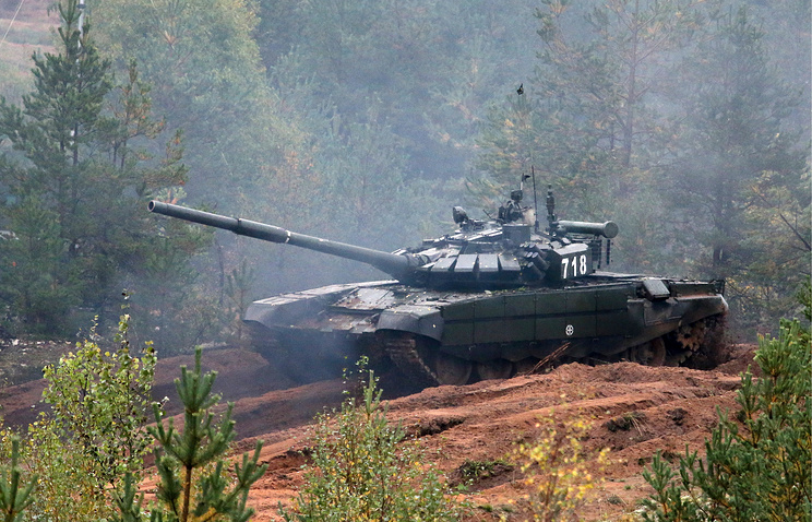 Танк Т-72Б3.