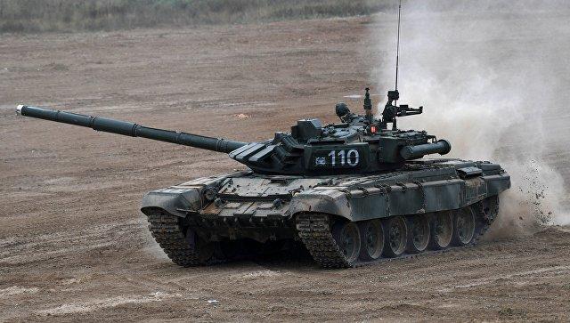 Танк Т-72Б3. Архивное фото.