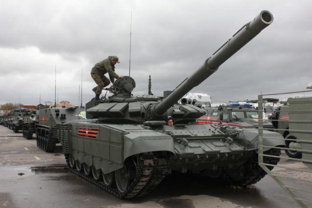 Танк Т-72Б3М.