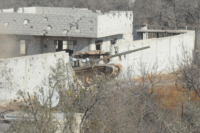 Танк Т-72М1 ВС Сирии.