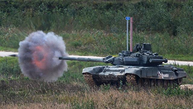 Танк Т-90. Архивное фото.