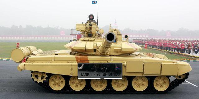 Танк Т-90 ВС Индии