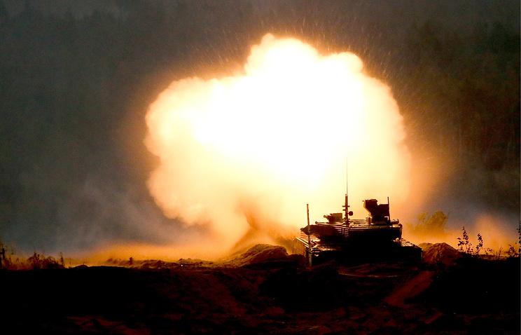 """Танк Т-90М на учениях """"Запад-2017""""."""